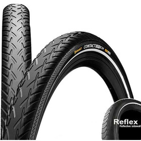 "Continental Contact City E-25 Wired-on Tire 28"" Reflex black"